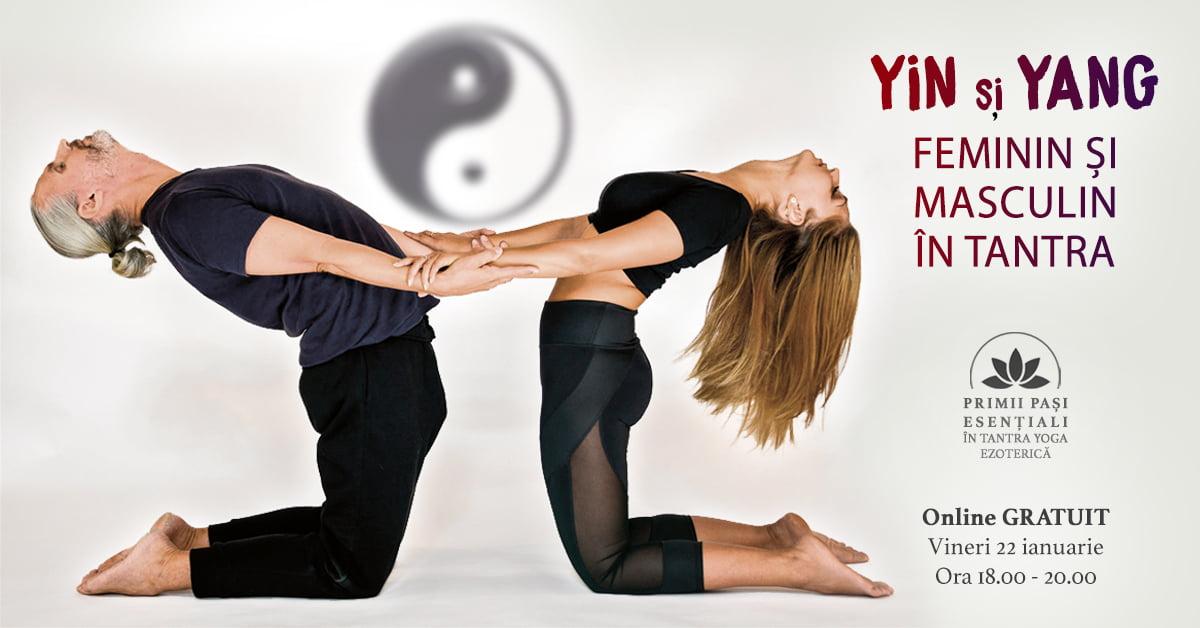 Yin și Yang –  Feminin și Masculin în Tantra