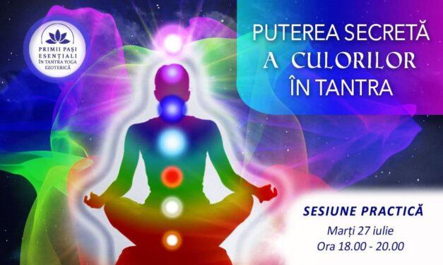 27.07.2021 – Puterea secretă a culorilor în Tantra